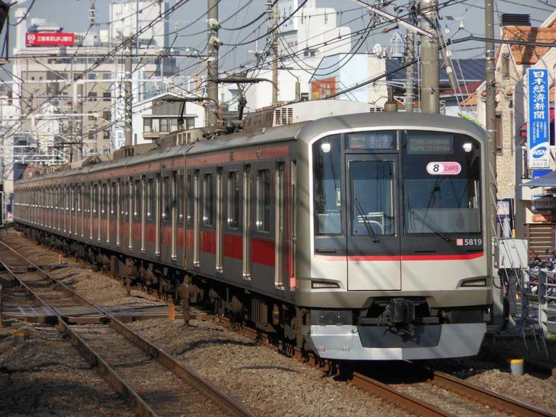 東急電車のイメージ